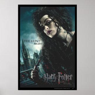 Mortal santifica - Bellatrix Lestrange 2 Póster