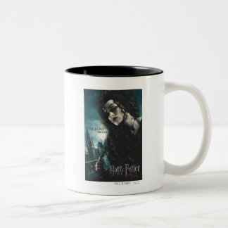 Mortal santifica - Bellatrix Lestrange 2 Taza De Dos Tonos