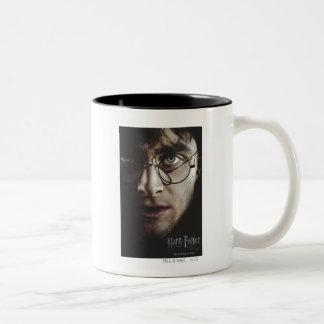 Mortal santifica - Harry Potter Taza De Dos Tonos