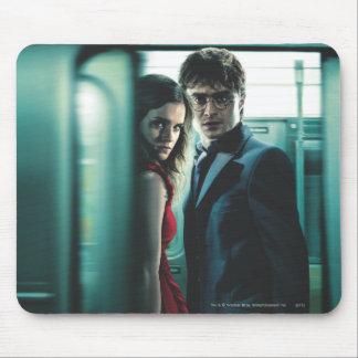 Mortal santifica - Harry y Hermione Alfombrillas De Raton