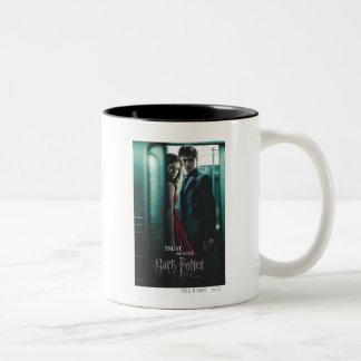 Mortal santifica - Harry y Hermione Taza De Dos Tonos