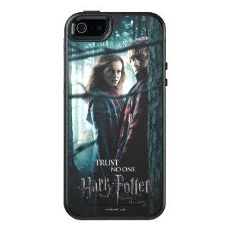Mortal santifica - Hermione y Ron Funda Otterbox Para iPhone 5/5s/SE