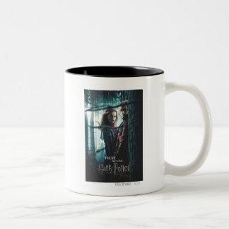 Mortal santifica - Hermione y Ron Taza De Dos Tonos