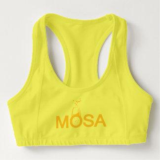 Mosa se divierte el sujetador sujetador deportivo