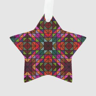 Mosaico colorido del triángulo