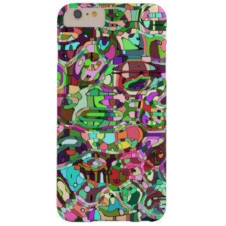 Mosaico colorido funda barely there iPhone 6 plus