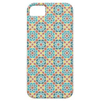 Mosaico de azulejos de Marruecos. Arabesco morisco iPhone 5 Case-Mate Funda