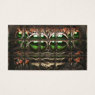 Mosaico de la araña tarjeta de negocios