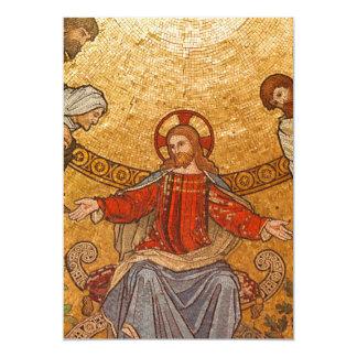 Mosaico de la iglesia - Jesucristo Invitación Personalizada