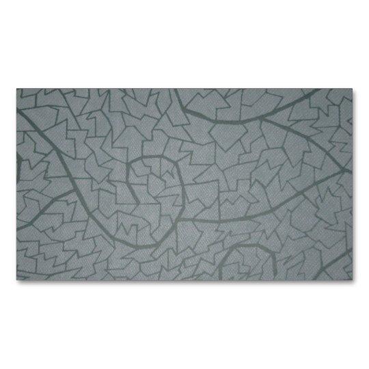 Mosaico de la onda tarjeta de visita magnética