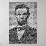 Mosaico de Lincoln Impresiones