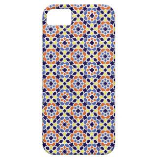 Mosaico de Marruecos. Patrón arabesco geométrico. iPhone 5 Cárcasas