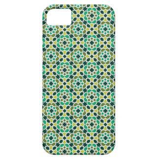 Mosaico de Marruecos. Patrón arabesco geométrico. iPhone 5 Case-Mate Coberturas