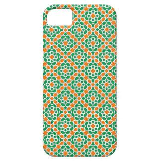 Mosaico de Marruecos. Patrón arabesco geométrico. iPhone 5 Protector