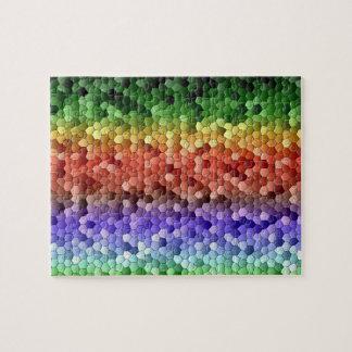 Mosaico del arco iris puzzle