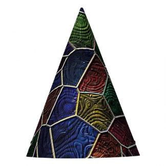 Mosaico Lora, multicolor Gorro De Fiesta