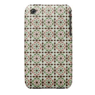 Mosaico y arte de Marruecos. Arabesco arte islámic Case-Mate iPhone 3 Cárcasa