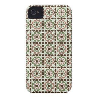 Mosaico y arte de Marruecos. Arabesco arte islámic Case-Mate iPhone 4 Protectores