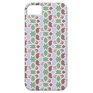 Mosaico y arte de Marruecos. Arabesco en azulejos iPhone 5 Case-Mate Protector