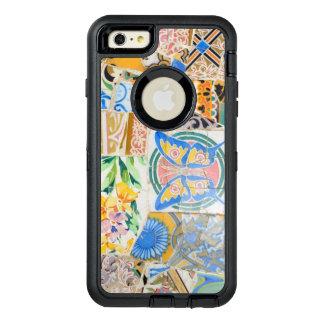 Mosaicos de Guell del parque Funda OtterBox Defender Para iPhone 6 Plus