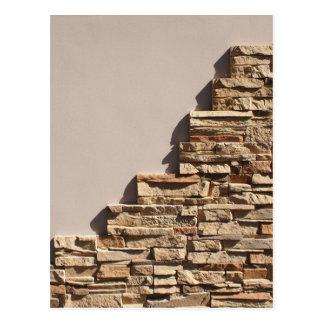 Mosaicos decorativos de la piedra natural postal
