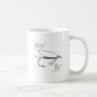 mosca 2.gif de la estancia taza básica blanca