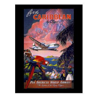 Mosca al Pan American World Airways del Caribe Postal