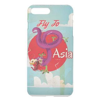 Mosca al viaje del vintage de Asia Funda Para iPhone 8 Plus/7 Plus