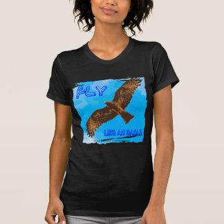 mosca como un eagle2 camiseta
