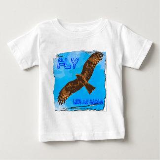 mosca como un eagle2 camiseta de bebé