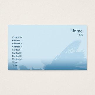 Mosca - negocio tarjeta de negocios