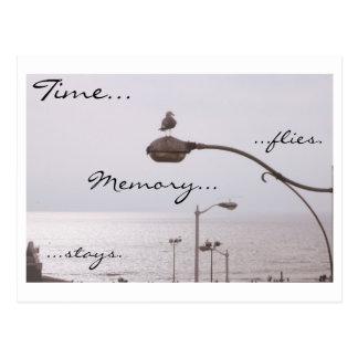 Moscas del tiempo…. Estancias de la memoria… Postal