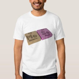 mose como Molybedenum MES y SE del selenio Camisetas