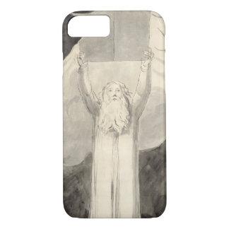 Moses que recibe la ley, c.1780 (cepillo y negro i funda iPhone 7