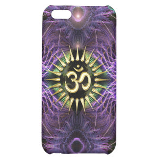 Mota púrpura de NewAge Aum de los fractales de la
