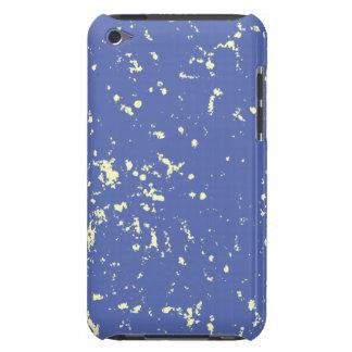 Motas azules claras y blancas funda para iPod de barely there
