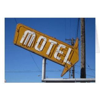 Motel Tarjeta De Felicitación
