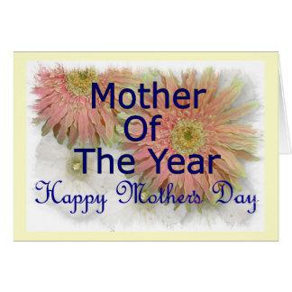 Mother&apos feliz; día de s tarjeta de felicitación