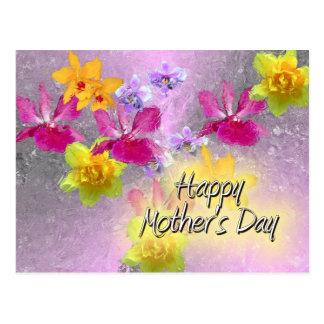 Mother&apos feliz; día de s tarjeta postal