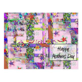 Mother&apos feliz; día de s tarjetas postales