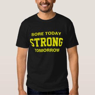 Motivación del entrenamiento camiseta