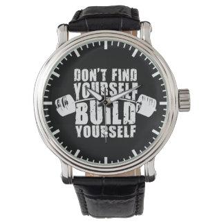 Motivación del entrenamiento - estructura usted reloj de pulsera