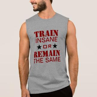 Motivación del entrenamiento playeras sin mangas