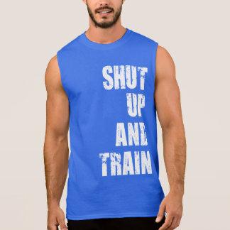 Motivación del gimnasio del Bodybuilding - cerrada Remeras Sin Mangas