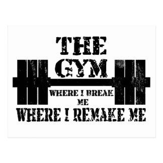 Motivación del gimnasio postal