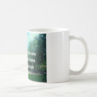 Motivational mug taza