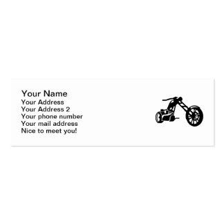 Moto del interruptor tarjeta de visita