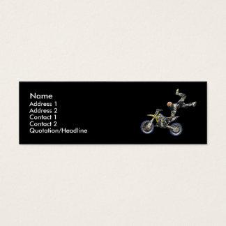 moto i también tarjeta de visita pequeña