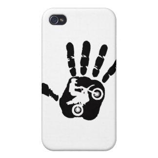 Moto nunca básico iPhone 4/4S funda