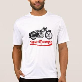 Motocicleta del vintage camiseta